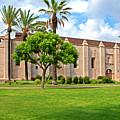 Mission San Gabriel Arcangel, San Gabriel, California by Denise Strahm