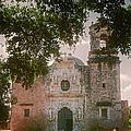 Mission San Jose In San Antonio by Joan Carroll