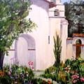Mission San Juan Batista by Louise Roy