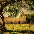 Mission San Juan Church by Priscilla Burgers