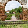 Mission San Luis Rey Carriage Arch by Robert VanDerWal