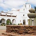 Mission San Luis Rey by Robert VanDerWal