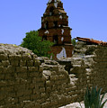 Mission San Miguel Bells 2 by Gary Brandes