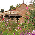 Mission Wish, Mission San Juan Capistrano, California by Denise Strahm