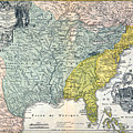 Mississippi Region, 1687 by Granger
