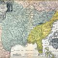 Mississippi Region, 1687 by Granger