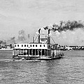 Mississippi River Ferry Boat by Underwood Archives