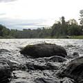 Mississippi River Rocks At Dawn by Kent Lorentzen