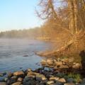 Mississippi River Shades Of Fog by Kent Lorentzen