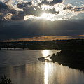 Missouri River Great Falls Mt by Cindy Murphy - NightVisions