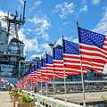 Missouri Warship Memorial Flags by Benny Marty