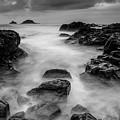 Mist On The Water In Monochrome by Jennifer Higgs