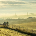 Mist Over Clackmannan by Jeremy Lavender Photography