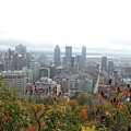 Mist Over Montreal by Christiane Schulze Art And Photography
