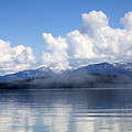 Mist Over Priest Lake by Carol Groenen