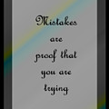 Mistakes... by Carol Crisafi