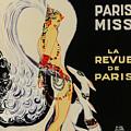 Mistanguette At The Casino De Paris by Zig