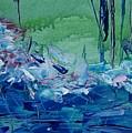 Mistery Pond by Geraldine Liquidano