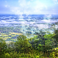 Mists In The Valley by Debra and Dave Vanderlaan