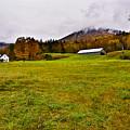 Misty Autumn At The Farm by Rockybranch Dreams