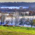 Misty Bluegrass Morning 2 by Sam Davis Johnson