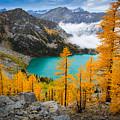 Misty Colchuck Lake by Inge Johnsson