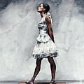 Misty Copeland Ballerina As The Little Dancer by Laura Row