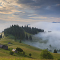 Misty Dawn In The Mountains by Anton Petrus
