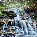 Misty Falls by Az Jackson