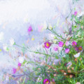 Misty Floral Spray by Terry Davis