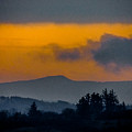 Misty Irish Countryside At Dawn by James Truett