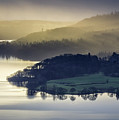 Misty Lake Windermere by Philip Durkin