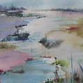 Misty Marsh by Dorothy Herron