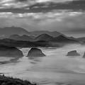 Misty Morning by Don Schwartz