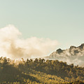 Misty Mountain Peaks by Jorgo Photography - Wall Art Gallery