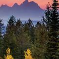 Misty Mountain Sunset by Andrew Soundarajan