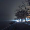 Misty Night by Valeriy Shvetsov