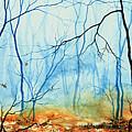 Misty November Woods by Hanne Lore Koehler
