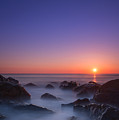 Misty Rock Sunrise by Michael Ver Sprill