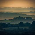 Misty Summer Irish Morning by James Truett