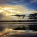 Misty Sunrise by Steve Spiliotopoulos