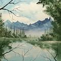 Misty View by Glen Mcclements