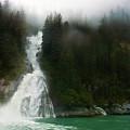 Misty Waterfall  by Harry Spitz