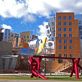 Mit Stata Center Cambridge Ma Kendall Square M.i.t. Sculpture by Toby McGuire