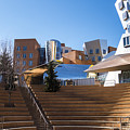 Mit Stata Center Cambridge Ma Kendall Square M.i.t. Staircase by Toby McGuire