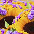 Mixed Autumn Flowers by Anastasy Yarmolovich