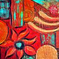 Mixed Media Abstract  by Davids Digits