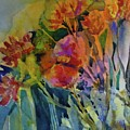 Mixed Media Flowers by Donna Acheson-Juillet