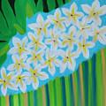 Mixed Up Plumaria by Deborah Boyd