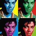 Michael Jackson - 4 Up In Color by Walter Neal